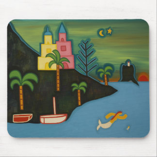 The Volcanic Island 2008 Mouse Pad