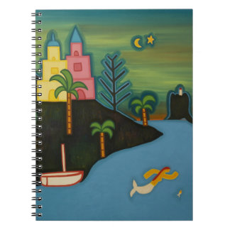 The Volcanic Island 2008 Spiral Notebook