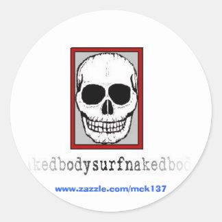 The Voodoo sticker from BSN Bodysurfing Apparel