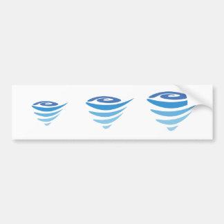 """""""The Vortex"""" Bumper Sticker"""