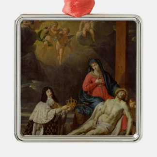 The Vow of Louis XIII  King of France and Ornament