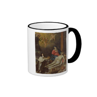 The Vow of Louis XIII  King of France and Ringer Coffee Mug