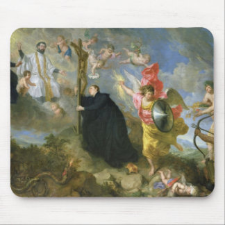 The Vows of Saint Aloysius of Gonzaga Mouse Pad