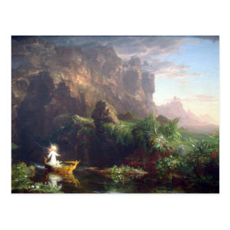 The Voyage of Life - Childhood by Thomas Cole Postcard