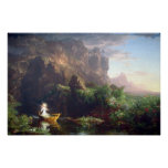 The Voyage of Life - Childhood by Thomas Cole Posters