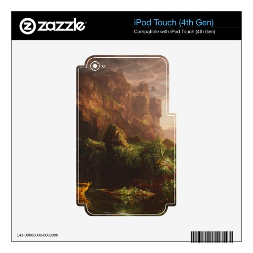 The Voyage of Life: Childhood - Thomas Cole iPod Touch 4G Skin
