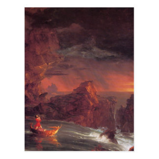 The Voyage of Life: Manhood by Thomas Cole Postcard