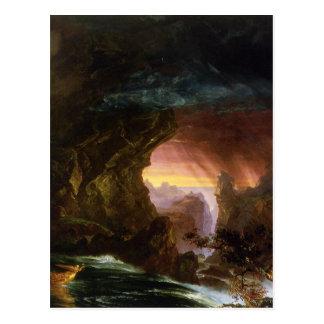 The Voyage of Life: Manhood Thomas Cole Postcard