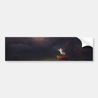 The Voyage of Life Old Age by Thomas Cole Bumper Stickers