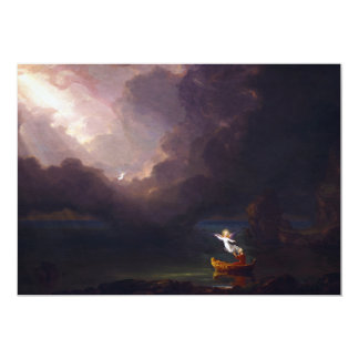 The Voyage of Life Old Age by Thomas Cole Invitation