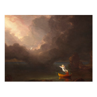 The Voyage of Life Old Age Thomas Cole 1842 Postcard
