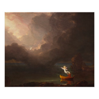 The Voyage of Life Old Age Thomas Cole 1842 Poster