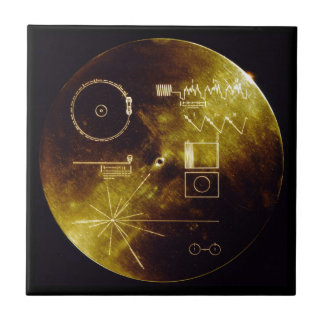 The Voyager Golden Record Ceramic Tile
