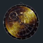 "The Voyager Golden Record Dart Board<br><div class=""desc"">NASA&#39;s The Voyager Golden Record</div>"
