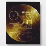 The Voyager Golden Record Display Plaque