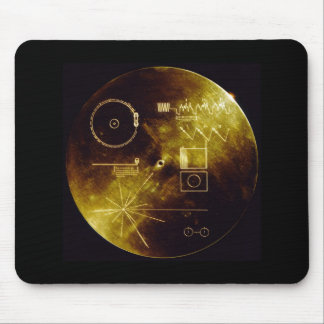 The Voyager Golden Record Mouse Pad