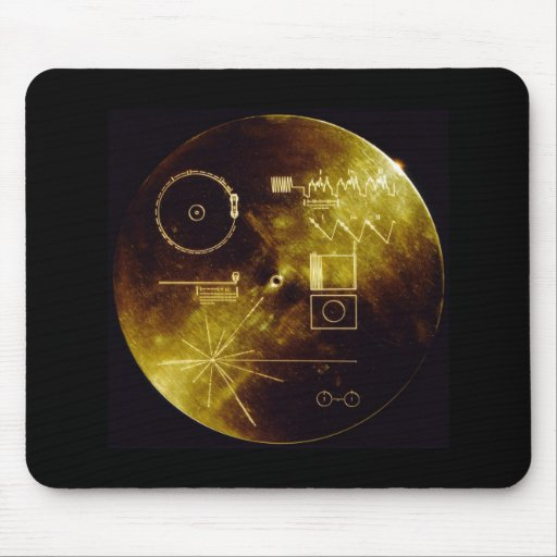 The Voyager Golden Record Mouse Pads