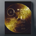 """The Voyager Golden Record Plaque<br><div class=""""desc"""">NASA&#39;s The Voyager Golden Record</div>"""