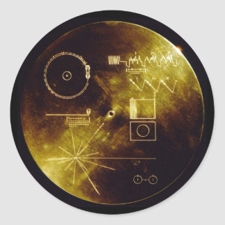 The Voyager Golden Record Sticker