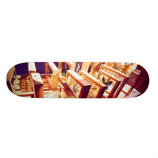 The Voyagers Insect Watercolor Skateboard
