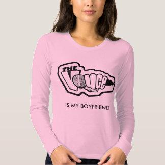 The Voyce Is My Boyfriend Long Sleeve T-shirt