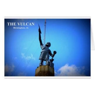 THE VULCAN STATUE CARD
