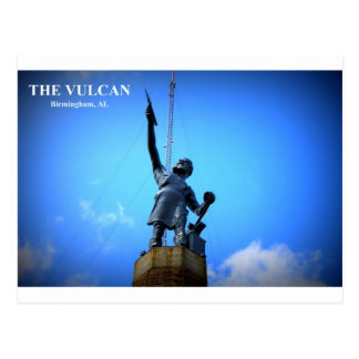 THE VULCAN STATUE POST CARD