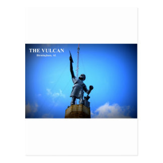 THE VULCAN STATUE POSTCARD