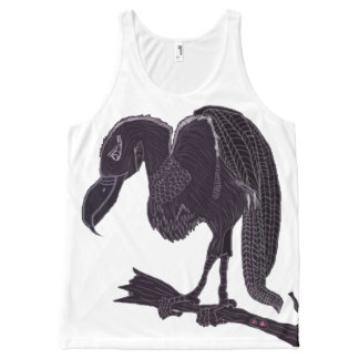 The Vulture All-Over Print Tank Top