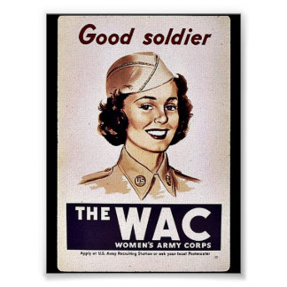 The Wac Womens Army Corps Poster