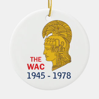The WAC Years Ceramic Ornament