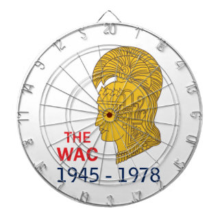 The WAC Years Dart Board