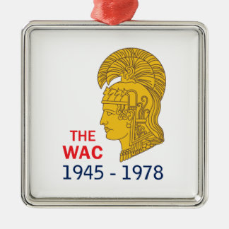 The WAC Years Metal Ornament