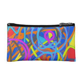 The Wacky Paint Store Upside Down Cosmetic Bag