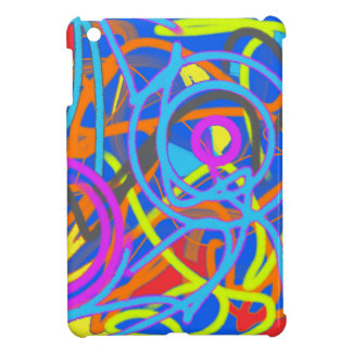 The Wacky Paint Store Upside Down iPad Mini Cover