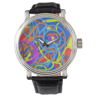 The Wacky Paint Store Upside Down Wristwatch