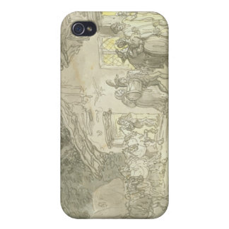 The Waggoner's Rest, c.1800-05 (pen & ink and w/c iPhone 4 Case