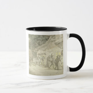 The Waggoner's Rest, c.1800-05 (pen & ink and w/c Mug