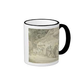 The Waggoner's Rest, c.1800-05 (pen & ink and w/c Ringer Coffee Mug
