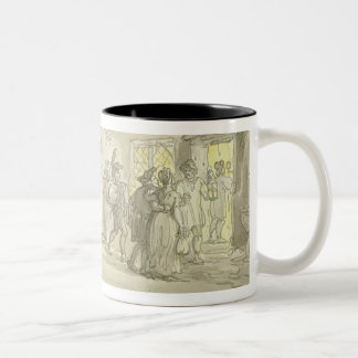 The Waggoner's Rest, c.1800-05 (pen & ink and w/c Two-Tone Coffee Mug