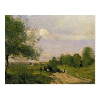 The Wagon, Souvenir of Saintry, 1874 Post Card