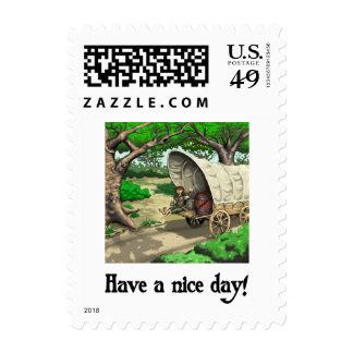 The Wagon Stamp Postage