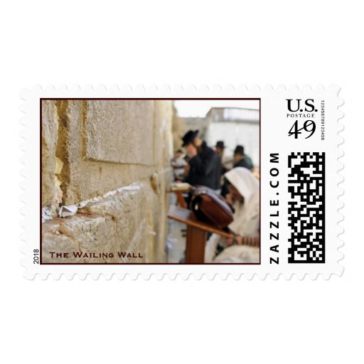 The Wailing Wall Postage Stamps