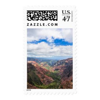 The Waimea Canyon Postage