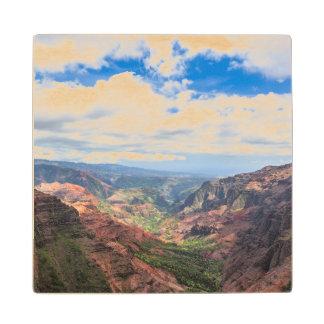 The Waimea Canyon Wooden Coaster