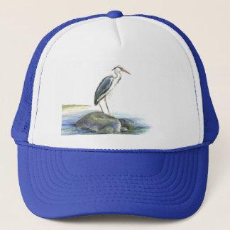 The Wait - Great Blue Heron Trucker Hat