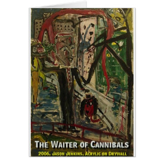 the waiter of cannibals card