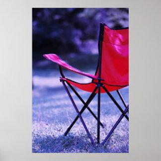 the waiting chair print