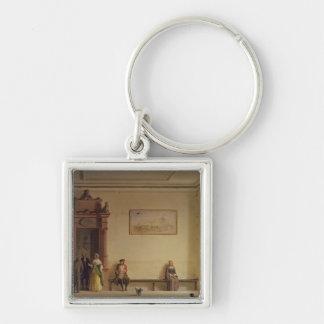 The Waiting Room, 1857 Keychain