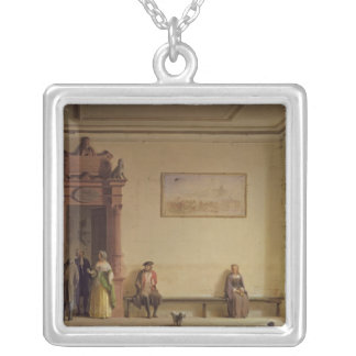 The Waiting Room, 1857 Silver Plated Necklace